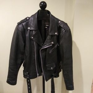 Jackets & Blazers - London Leatherwear Mens Vintage Jacket Size 42